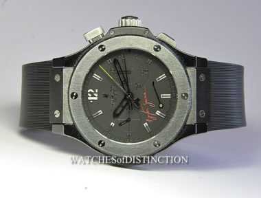 £SOLD (REF 6009) HUBLOT BIG BANG AYRTON SENNA