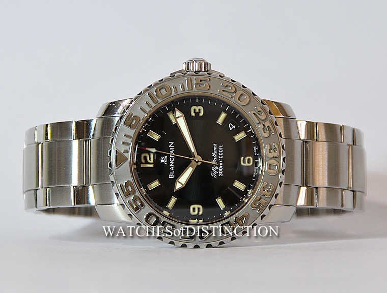 Sold Ref 4313 Blancpain 50 Fathoms Ref 2200 1130 71