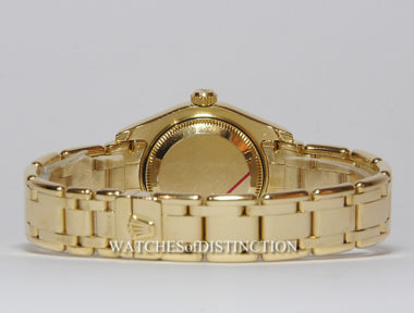 £SOLD (REF 4964) PEARLMASTER DATEJUST 80318