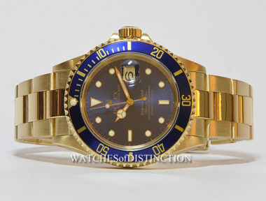 £SOLD (REF 4766) SUBMARINER DATE REF 16618 (1989)