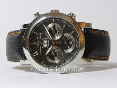 £SOLD (REF 4669) CORUM CLASSICAL FLYBACK CHRONO LTD EDITION