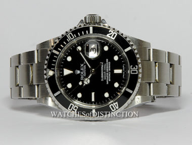 £SOLD (REF 4726) SUBMARINER DATE REF 16610