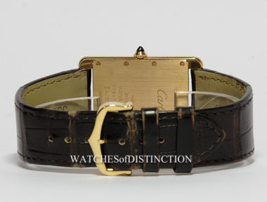 £SOLD (REF 4724) CARTIER LOUIS TANK XL REF 3280 CRW1560017