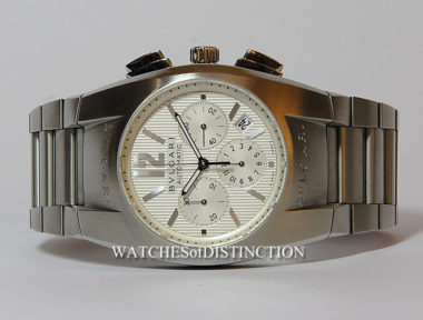 £1,395 (REF 4736) BVLGARI ERGON CHRONO REF EG40SCH