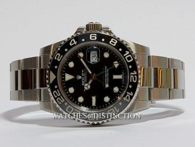 £SOLD (REF 4744) GMT MASTER II REF 116710LN