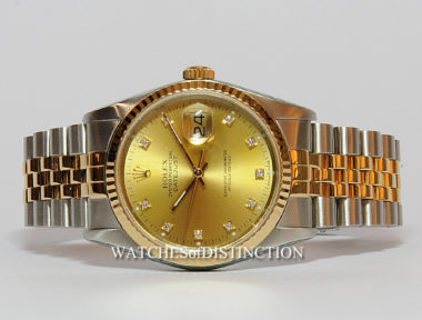 £SOLD (REF 4759) DATEJUST 16233 (1989)