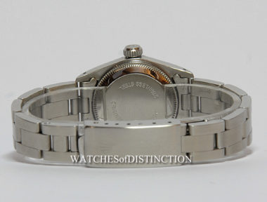 £SOLD (REF 4748) LADY OYSTER PERPETUAL REF 67180 (1988)