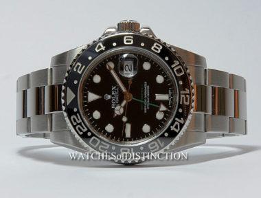 £SOLD (REF 4812) GMT MASTER II MODEL 116710LN