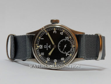 £SOLD (REF 4838) OMEGA MILITARY (1945)