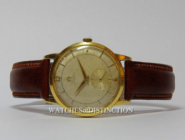 £SOLD (REF 4830) OMEGA AUTOMATIC (1945)