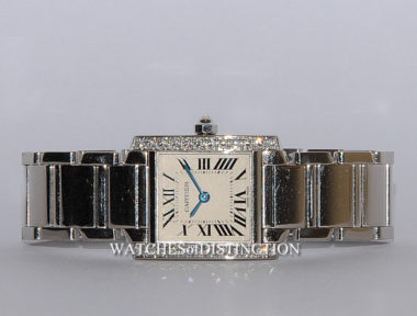£SOLD (REF 4752) CARTIER TANK FRANCAISE REF 2403