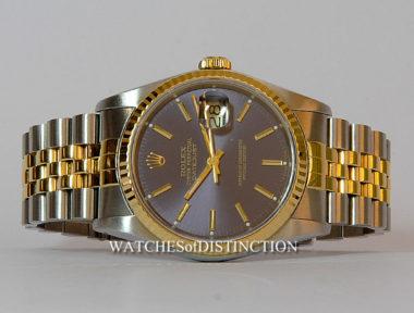 £SOLD (REF 4898) DATEJUST REF 16233 (1988)