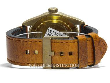 £SOLD (REF 4944) TUDOR BLACK BAY BRONZE REF 79250BM