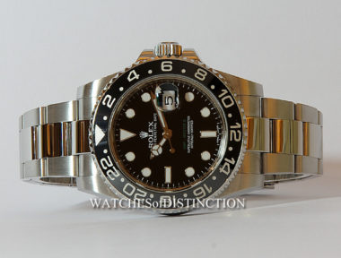 £SOLD (REF 4908) GMT MASTER II REF 116710LN