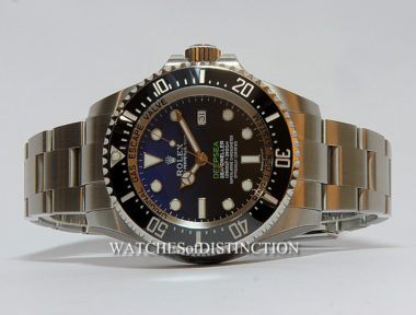 "£SOLD (REF 4989) DEEP-SEA ""D"" BLUE REF 116660"