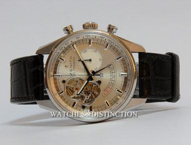 £SOLD (REF 4916) ZENITH EL PRIMERO CHRONOMASTER 03.2080.4021