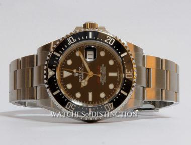 £SOLD (REF 4920) SEA-DWELLER REF 126600