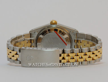 £SOLD (REF TF) OYSTER PERPETUAL DATEJUST MID-SIZE REF 68273 (1989)