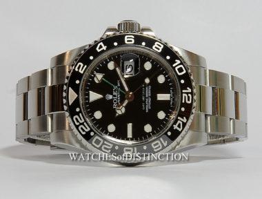 £SOLD (REF 4926) GMT MASTER II REF 116710LN