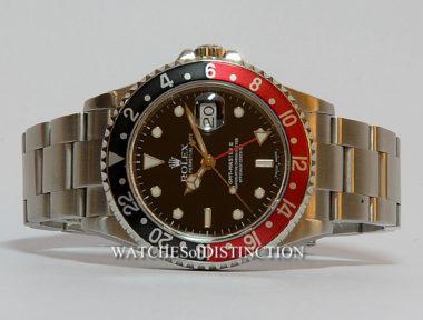 "£SOLD (REF 4936) GMT MASTER II REF 16710 ""COKE"""