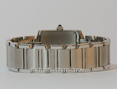 £SOLD (REF 4999) CARTIER TANK FRANCAISE MID-SIZE REF 2301