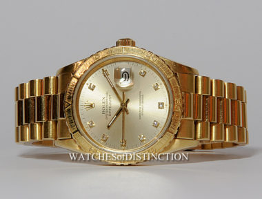 £SOLD (REF 5100) OYSTER PERPETUAL DATEJUST MODEL 16258 (1988)