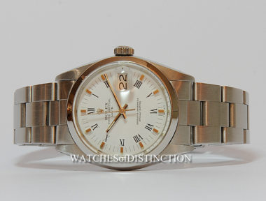 £SOLD (REF 4984) OYSTER PERPETUAL DATE REF 1500 (1964)
