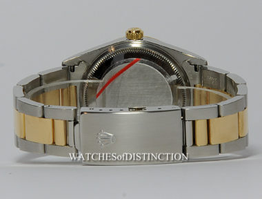 £SOLD (REF 4998) OYSTER PERPETUAL DATE REF 15223 (2001)