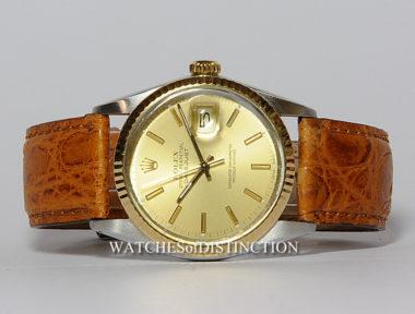 £SOLD (REF 4963) DATEJUST REF 16013 (1988)