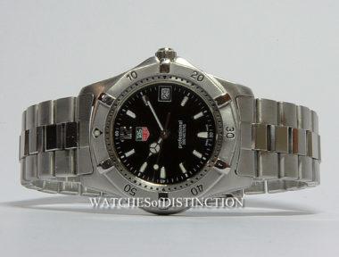 £SOLD (REF 5182) TAG HEUER 2000 REF WK1110-0