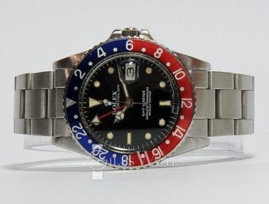"£SOLD (REF 5367) GMT MASTER ""PEPSI"" REF 16750 (1985)"