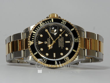 £SOLD (REF 5368) SUBMARINER DATE MODEL 16613