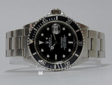 £SOLD (REF 5369) SUBMARINER REF 16610 (1991)
