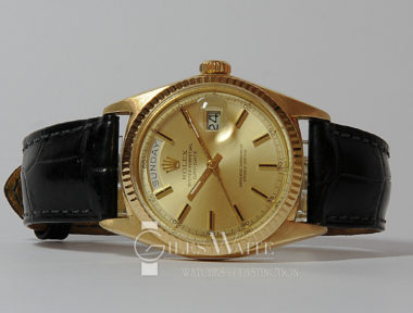 £SOLD (REF 5381) DAY-DATE MODEL 1803 (1970)
