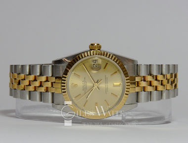 £SOLD (REF 5408) DATEJUST MID SIZE MODEL 68273 (1984)