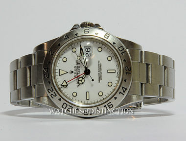 £SOLD (REF 5399) EXPLORER II MODEL 16570 (1997)