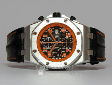 £SOLD (REF 6231) AUDEMARS PIGUET ROYAL OAK OFFSHORE CHRONOGRAPH VOLCANO REF 26170ST00D101CR01