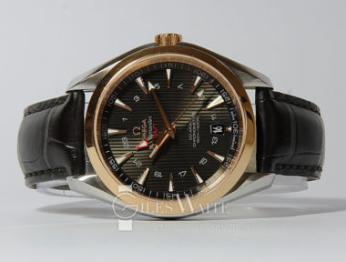 £4,695 (REF 5420) SEAMASTER AQUATERRA GMT REF 231.23.43.22.06.001