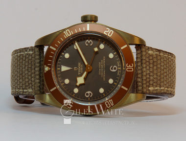 £SOLD (REF 5468) TUDOR BLACK BAY BRONZE REF 79250BM