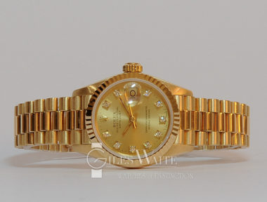 £SOLD (REF 5401) OYSTER LADY DATEJUST MODEL 69178 (1991)