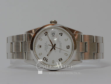 £SOLD (REF 5500) OYSTER PERPETUAL DATE MODEL 15200 (1996)