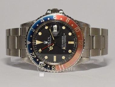 £SOLD ( REF 5556) GMT MASTER REF 16750 (1982)