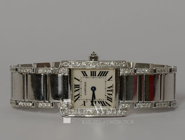 £SOLD (REF 5896) CARTIER TANK FRANCAISE REF 2403