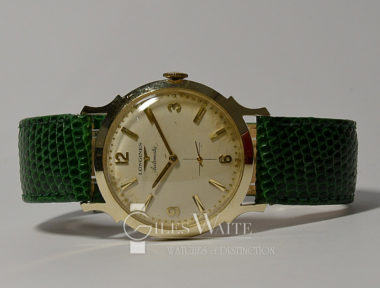 £1,295 (REF 5404) LONGINES / WITTNAUER AUTOMATIC 2229-P (1956)