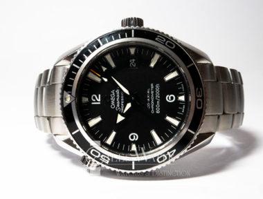 "£SOLD (REF 5991) OMEGA PLANET OCEAN ""BOND""  REF 22015000 (2010)"