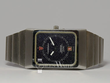 £SOLD (REF 5807) OMEGA CONSTELLATION MEGA QUARTZ REF ST396.0806 (1976)
