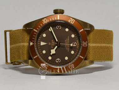 £2,295 (REF 5468) TUDOR BLACK BAY BRONZE REF 79250BM (2018)