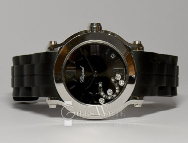 "£2,695 (REF 6411) CHOPARD HAPPY SPORT ""LUCKY HORSE SHOE"" REF 8475 (2016)"