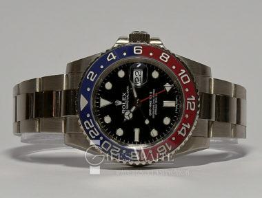 £SOLD (REF 9033) GMT MASTER II REF 116719BLRO (2015)
