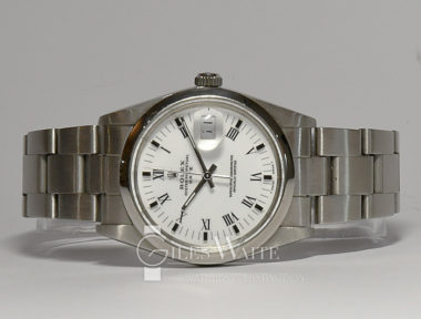 £SOLD (REF 5902) OYSTER PERPETUAL DATE MODEL 15000 (1988)